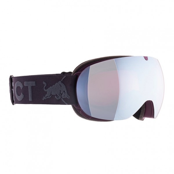 RED BULL SPECT Magnetron_Ace Skibrille Goggles Burgundy / Mauve Snow Red w Silver Flash MAGNETRON_ACE-009