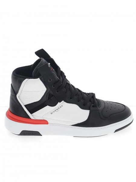 GIVENCHY Leather High Top Sneaker