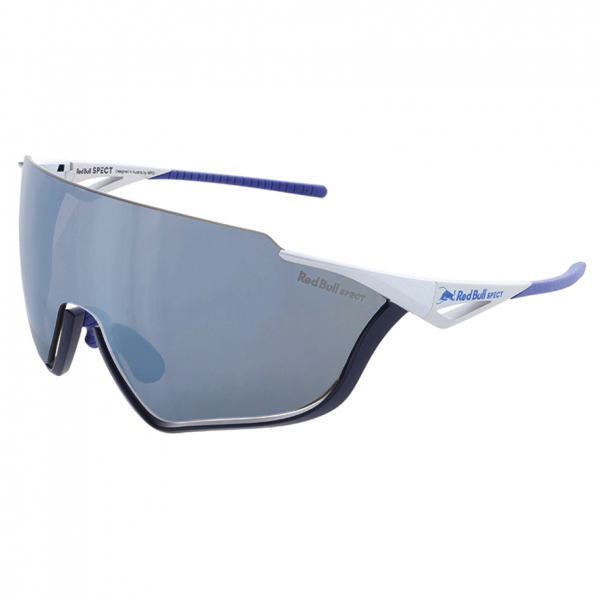 RED BULL SPECT Pace 004 Matte Silver / Blue Silver Mirror