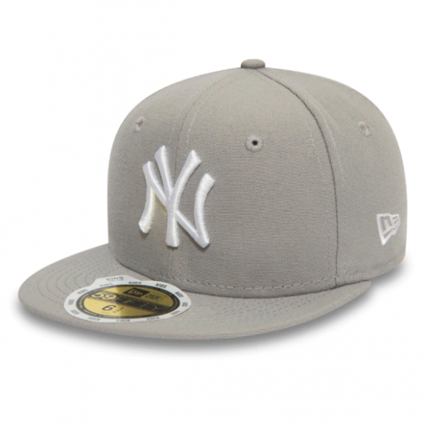NEW ERA Kids 5950 MLB League Basic Yankees Grau