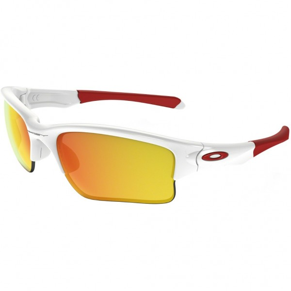 OAKLEY Quarter Jacket Polished White / Fire Iridium OO9200_03