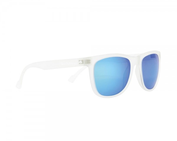 RED BULL SPECT Lake Sonnenbrille White transparent / Turque iridium LAKE-006