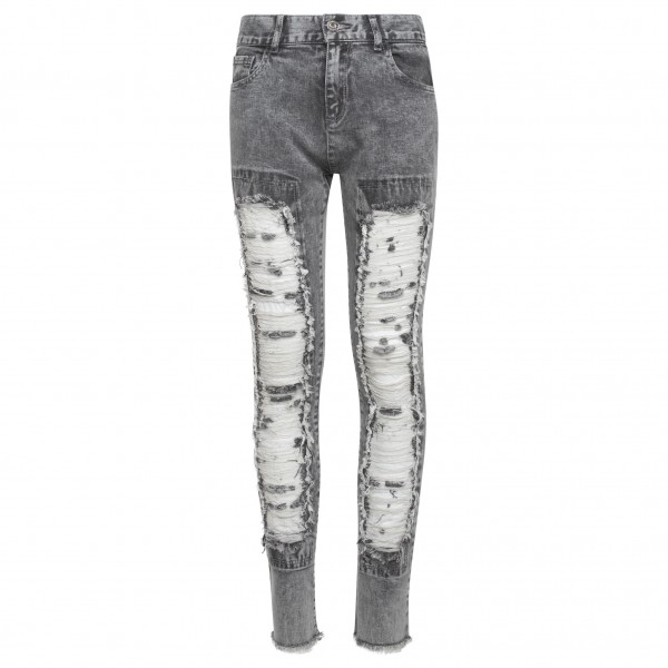 TWINSET Front Destroyed Girls Jeans