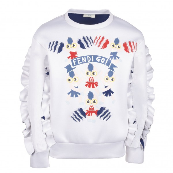 FENDI Girls Fendi Go Sweater