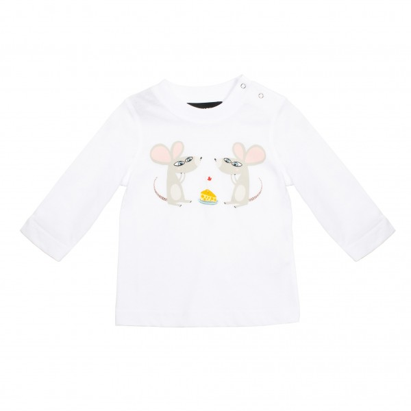 DSQUARED2 Little Kids Print Longsleeve Shirt