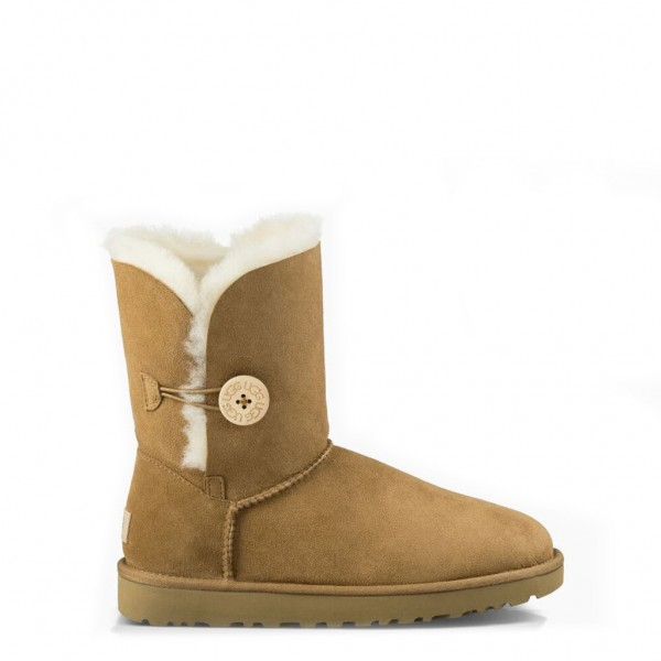 UGG Bailey Button II Damen Stiefel Beige