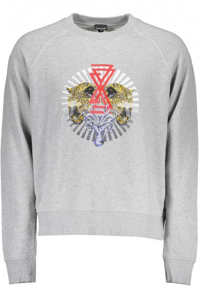 JUST CAVALLI Circle Print Sweater Herren Sweatshirt