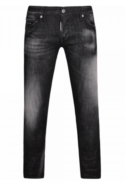DSQUARED2 Regular Clement Slimfit Herren Denim Jeans S74LB0231-S30357-900