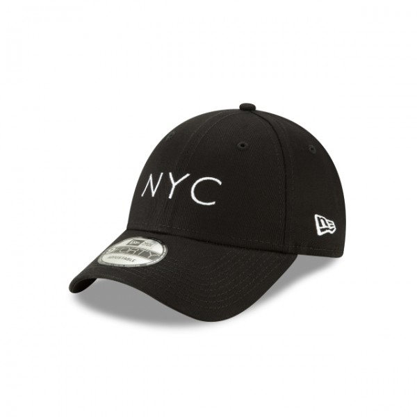 NEW ERA NYC Essential 9Forty Black One Size
