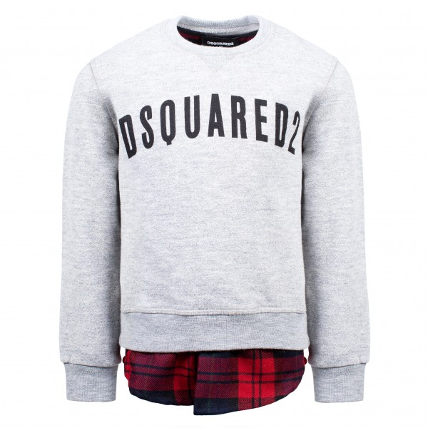 DSQUARED2 Logo Print Extended Sweater Kids