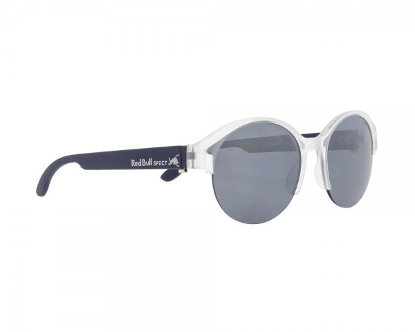 RED BULL SPECT Wing5 Sonnenbrille White Transparent / Silver Iridium