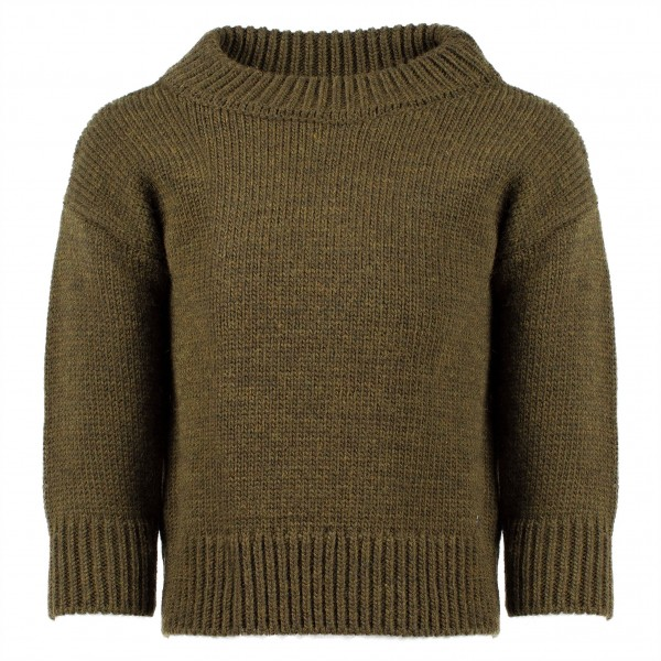 DSQUARED2 Knitted Pullover Khaki Kids