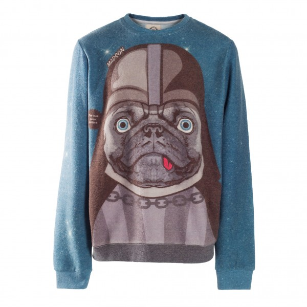 MADSON Darth Vador Bulldog Sweater