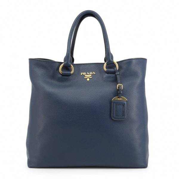 PRADA Saffiano Shopper Damentasche Navy