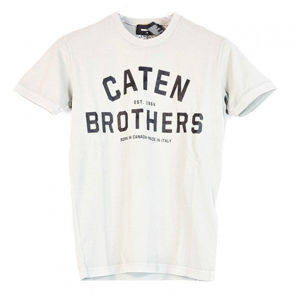 DSQUARED2 Caten Brothers Print Tee Herren T-Shirt S74GD0200-S20694-100