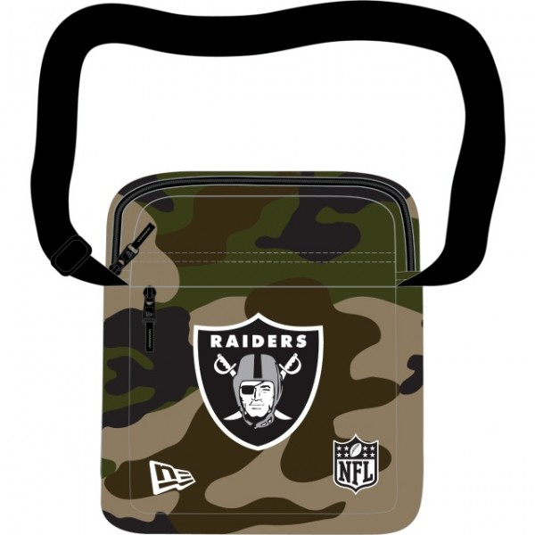 NEW ERA NFL Raiders Side Bag OAKRAI Camouflage