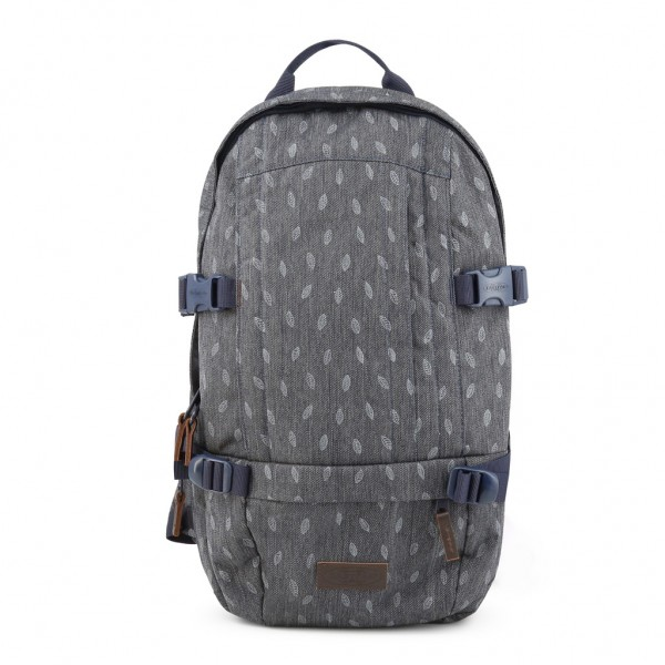 EASTPAK Floid Mono Leaves Backpack Rucksack Grau
