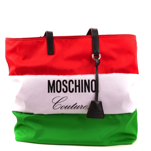 MOSCHINO Canvas Shopper Bag
