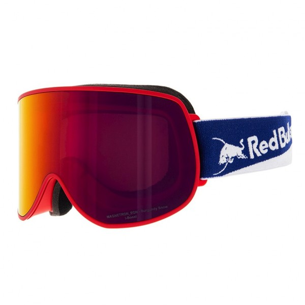 RED BULL SPECT Magnetron_Eon Skibrille Goggles Red / Burgundy Snow Red w Red Mirror MAGNETRON_EON-014