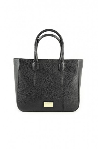 Emporio Armani Leather Shopper Bag