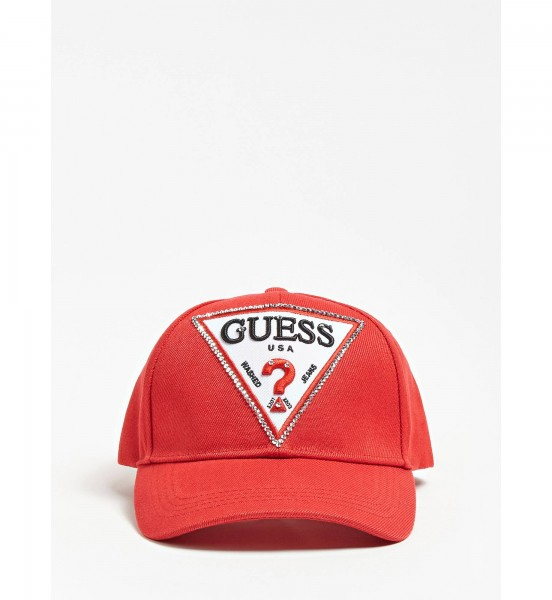 GUESS JEANS Baseball Cap Onesize Rot
