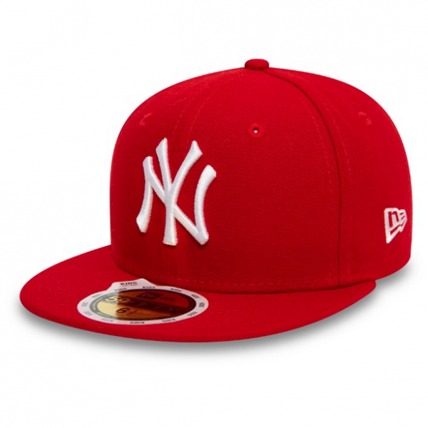 NEW ERA Kids 5950 MLB League Basic Yankees Rot