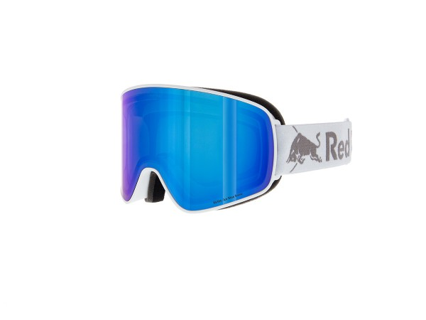RED BULL SPECT Rush Skibrille Goggles White / Ice Blue snow red w Blue mirror