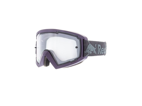 RED BULL SPECT Whip Skibrille Goggles Dark Violet / Clear Flash Clear