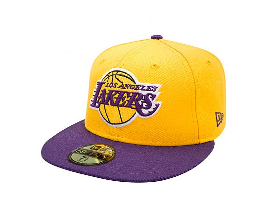 NEW ERA 59Fifty Team Flip Los Angeles Lakers