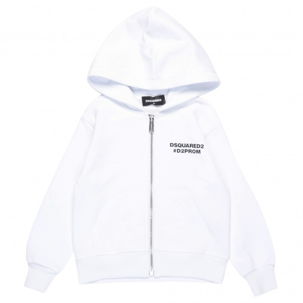 DSQUARED2 d2prom Yearbook Hoodie Jacket Kids