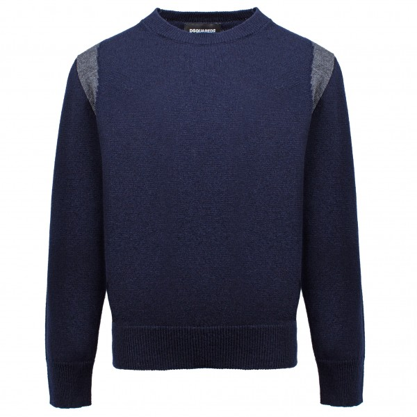 DSQUARED2 Two tone Knitted Pullover Kids