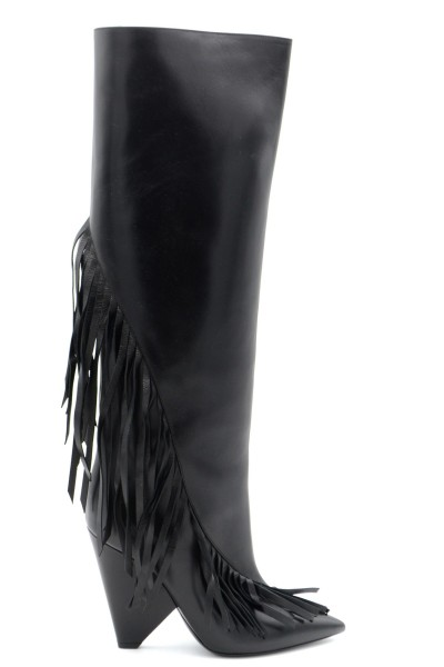 YVES SAINT LAURENT Damen Lederstiefel