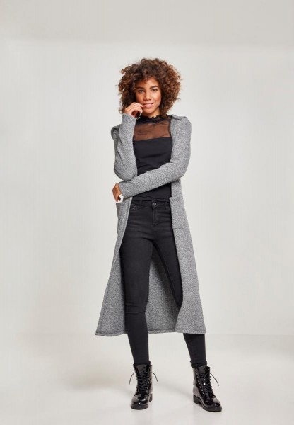 Urban Classics Ladies Terry Long Cardigan T2333