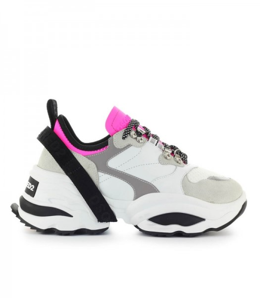 DSQUARED2 The Giant K2 Damen Sneaker Pink