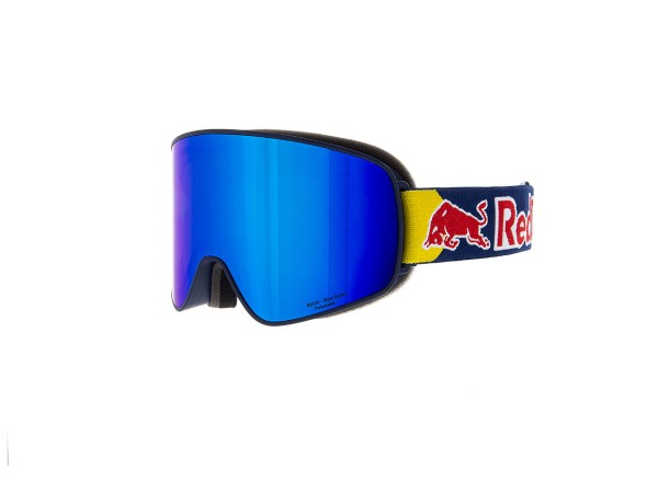 RED BULL SPECT Rush Skibrille Goggles Blue / Blue snow brown w Blue mirror