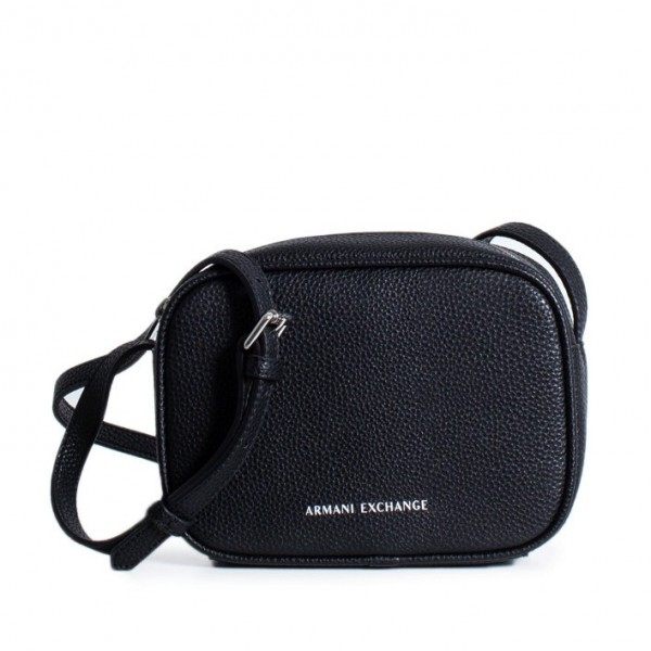 ARMANI EXCHANGE Classic Logo Bag Mini Damen Handtasche Schwarz