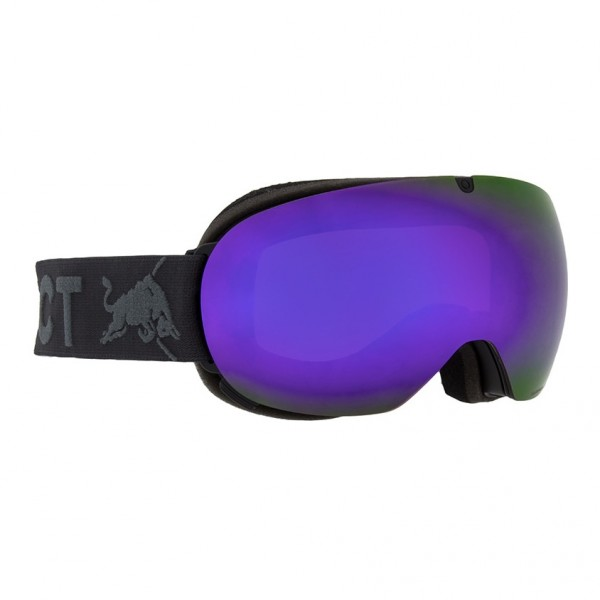 RED BULL SPECT Magnetron_Ace Skibrille Goggles Black / Purple Snow Brown w Violet Mirror MAGNETRON_ACE-001