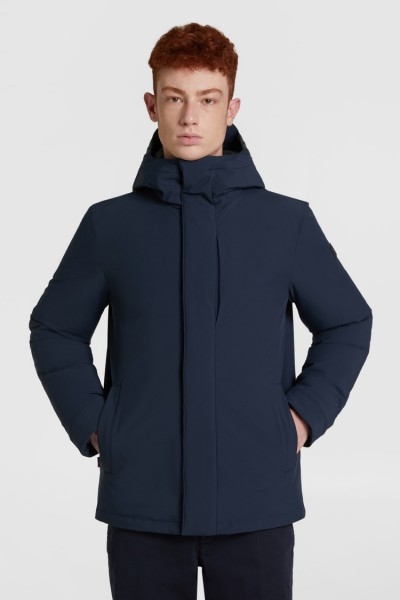 WOOLRICH Pacific Stretch Parka Black