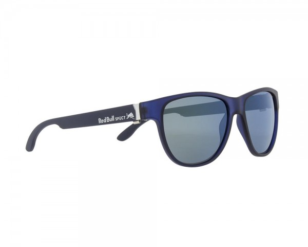RED BULL SPECT Wing3 Sonnenbrille Blue Transparent / Green Iridium