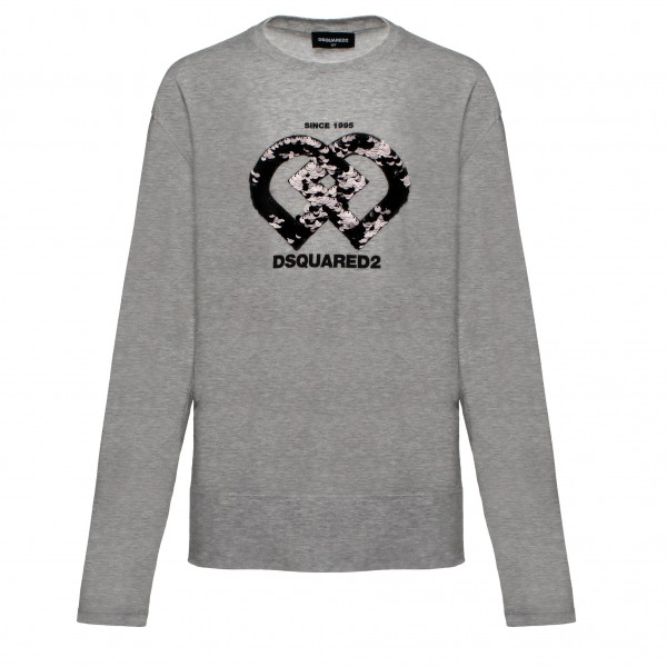 DSQUARED2 Girls Hearts Longsleeve Shirt