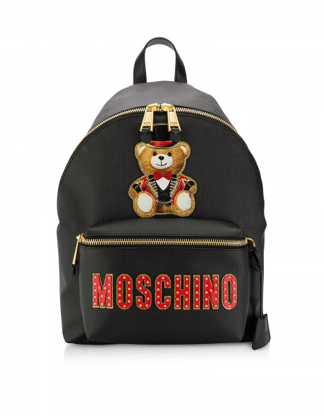 MOSCHINO Circus Teddy Bear Backpack Damen Rucksack