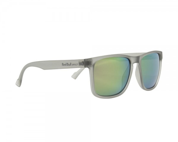 RED BULL SPECT Leap Sonnenbrille Matte Grey / Olive Iridium LEAP-002