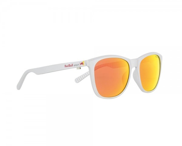 RED BULL SPECT Fly Sonnenbrille Silver / Red iridium FLY-004