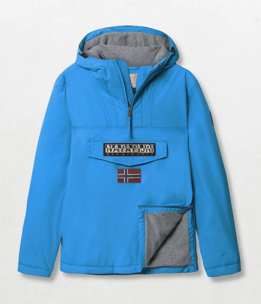 NAPAPIJRI Rainforest Winter Jacket Herren Anorak Blau