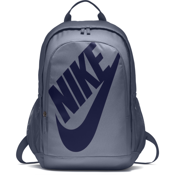 Men's Nike Sportswear Hayward Futura Backpack BA5217-445 | UNISEX EQUIPMENT TASCHEN | ASHEN SLATE/BLACK/BLUE VOID