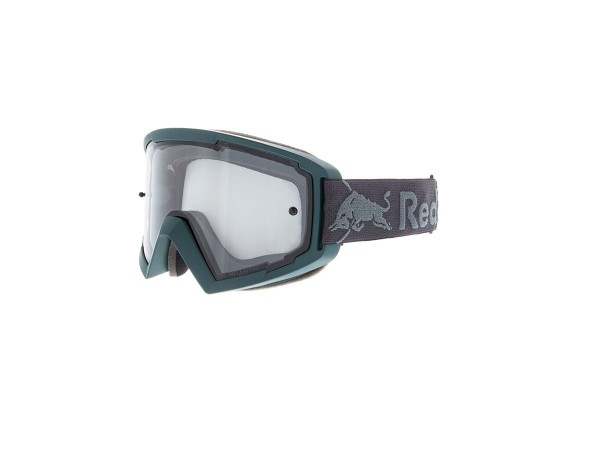 RED BULL SPECT Whip Skibrille Goggles Green Petrol / Light Grey Flash Light Grey