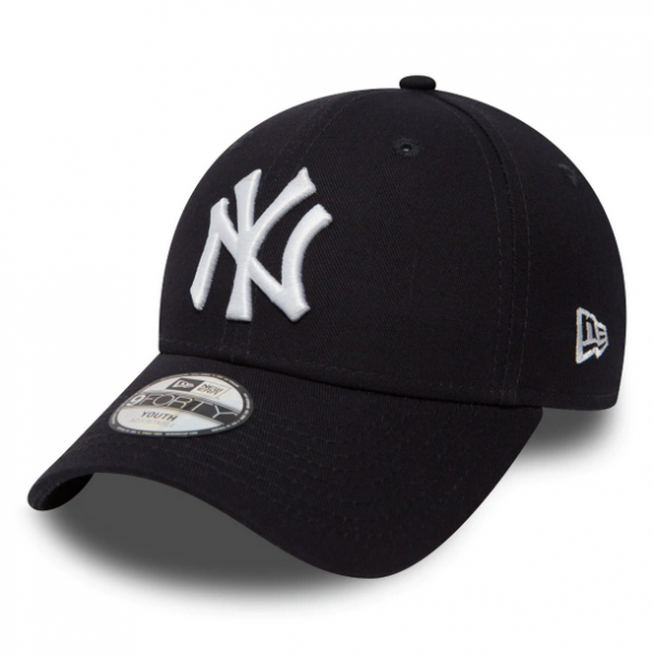 NEW ERA Kids MLB League Basic 940 Yankees Youth Size Schwarz