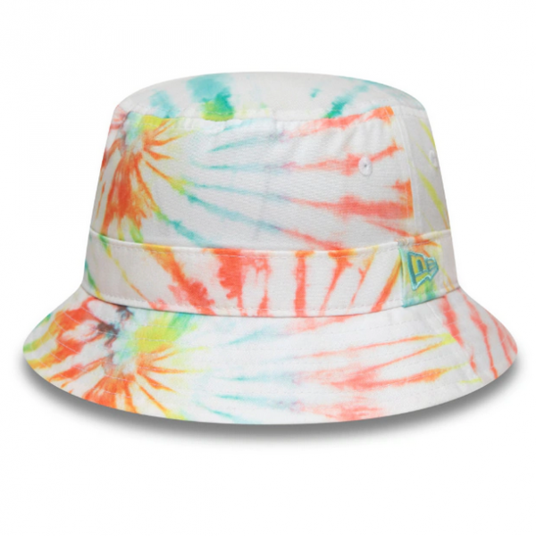 NEW ERA Tie Dye Bucket Weiß