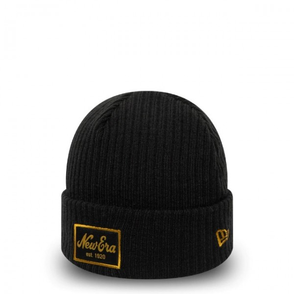 NEW ERA Flip Down Knit Black One Size