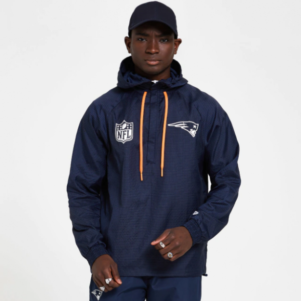 NEW ERA NFL Patriots Windbreaker Navy